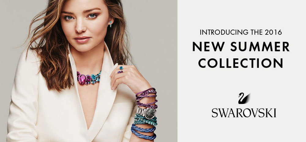 SWAROVSKI Jewellery: 2016 Summer  Collection